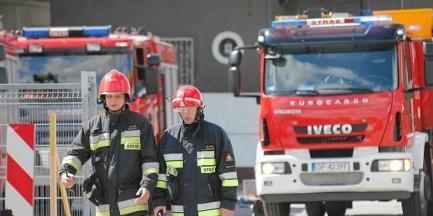 Awaria systemu przeciwpożarowego. Ewakuacja 200 osób