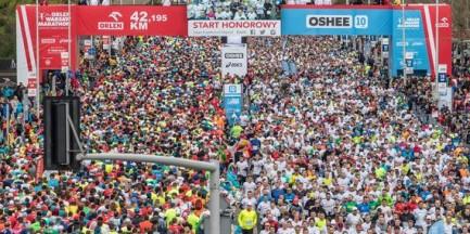 Trwa Orlen Warsaw Marathon. Są utrudnienia w ruchu. Policja uruchamia infolinię