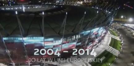 Warszawa w rządowym spocie na 10-lecie w UE (WIDEO)