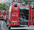 Pożar kamienicy na Woli. Ucierpiały dwie osoby