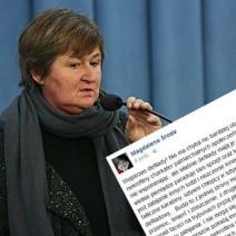 Magdalena Środa ostro o polskim wojsku. Internauci są bezlitośni