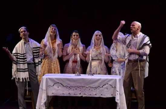 Kishka Monologues, fot. arch. teatru Yiddishpiel (mat. pras. Festiwalu Singera 2016)