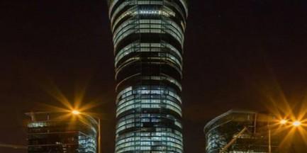 Budowa Warsaw Spire ukończona