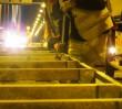 Pierwsza poduszka zderzeniowa zamontowana na Trasie Siekierkowskiej