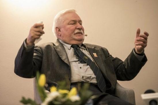 Lech Wałęsa. Fot. Arkadiusz Stankiewicz / Agencja Gazeta