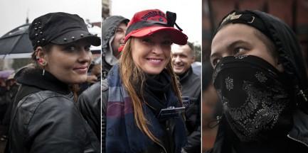 """""""Chcą kochać, nie umierać"""". Uczestniczki Strajku Kobiet na zdjęciach [GALERIA]"""