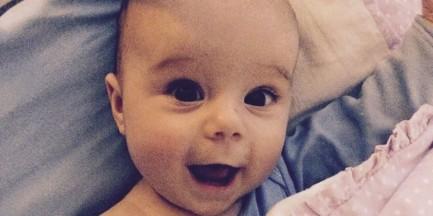 Roczna Marcelinka może stracić oko przez złośliwego raka
