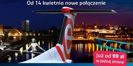Z Warszawy do Bydgoszczy samolotem
