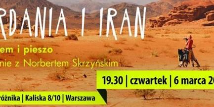 """Spotkanie """"Jordania i Iran – rowerem i pieszo"""""""