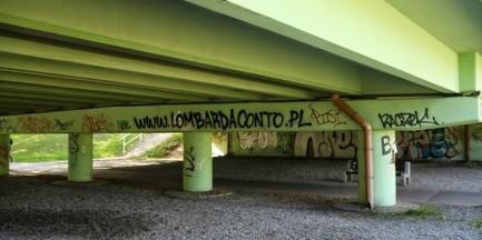 Legalne graffiti na Ursynowie