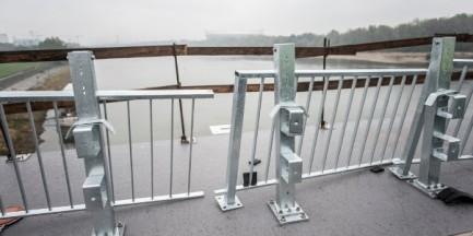 Wyjazdowe posiedzenie radnych z Komisji Infrastruktury...na moście Łazienkowskim