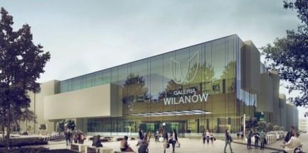 Galeria Wilanów bez pozwolenia na budowę