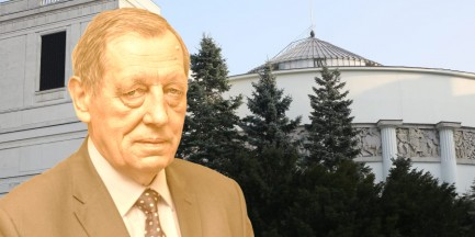 """Przed Sejmem stanie złoty pomnik min. Szyszki. """"Sukces lobbystów należy uczcić"""""""