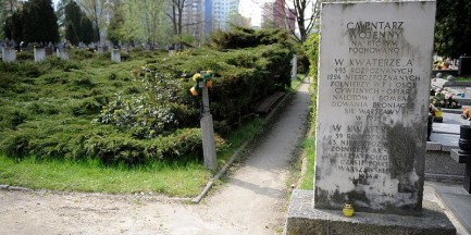 Przy Wałbrzyskiej znaleziono ciała ofiar komunistycznego terroru