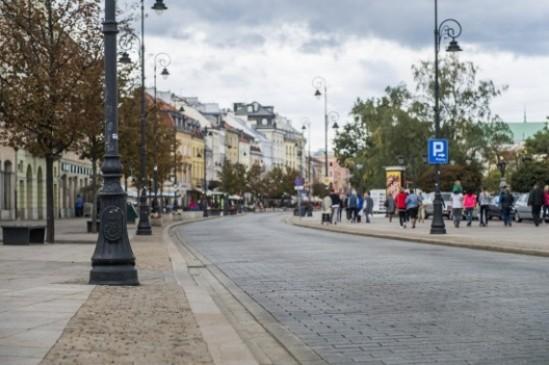 Krakowskie Przedmieście. Fot. ZDM