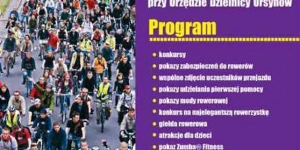 """Piknik rowerowy i plenerowy """"szafing"""" na Ursynowie"""