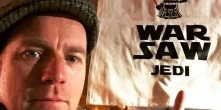 """Ewan McGregor zachwycił się Warszawą. """"Wrócę tutaj"""""""
