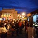 Noc Muzeów przed Pałacem Kultury i Nauki . Fot. Franciszek Mazur / Agencja Gazeta