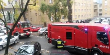 Uczniowie z ewakuowanego gimnazjum przy Hożej opuścili szpital