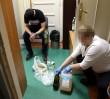 Bagaż 18-latka: płynna amfetamina, marihuana i kwas siarkowy [WIDEO]