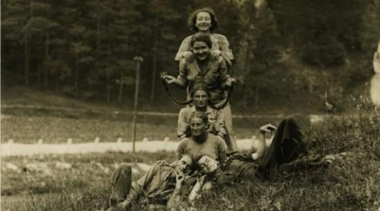 Zdjęcie z wystawy 'Spojrzenia' w Domu Spotkań z Historią, źródło: DSH