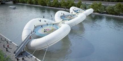 Ciekawostki z innych stolic: skok przez rzekę!