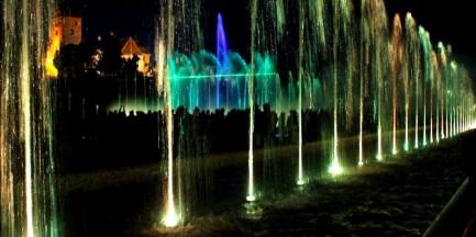 Pokaz multimedialny w Parku Fontann (dużo zdjęć)