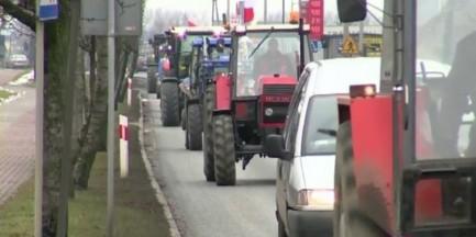 """""""Marsz gwiaździsty"""" ruszył na Warszawę. Utrudnienia w ruchu"""