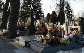 Pechowy wypadek na cmentarzu