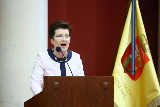 Hanna Gronkiewicz-Waltz Fot. Leszek Szymański/PAP