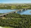 Niezwykłe zdjęcie z budowy mostu. Połączy Wawer z Wilanowem