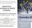 Chanuka - święto świateł na pl. Grzybowskim