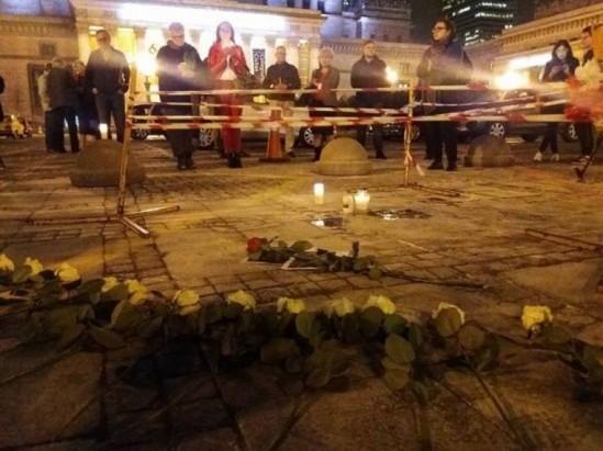 Do tragicznego zdarzenia doszło na placu Defilad Fot. WawaLove.pl