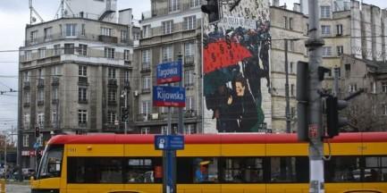 """Praga-Północ: zniknął mural upamietniający """"Czarny Protest"""""""