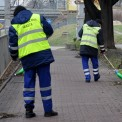 Pozimowe zamiatanie chodników zakończy się przed Wielkanocą Fot. Zarząd Oczyszczania Miasta