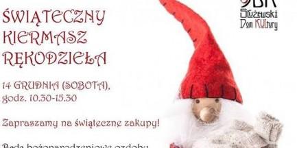 Świąteczny Kiermasz Rękodzieła na Mokotowie