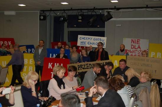 Zdjęcie z Rady Dzielnicy. Fot. mat. prasowe