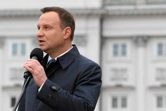 Prezydent Andrzej Duda. Fot. Sławomir Kamiński/Agencja Gazeta