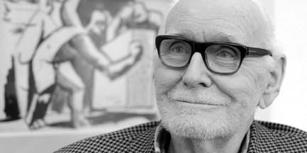 Zmarł Wojciech Fangor. Warszawski malarz, twórca oprawy wizualnej II linii metra