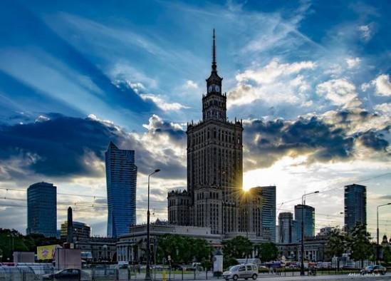 Pałac Kultury i Nauki w Warszawie. Fot. Anton Lukashuk