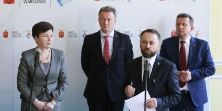 """Ratusz w ostrych słowach o ustawie Sasina. Olszewski: """"czas skończyć ten teatr"""""""