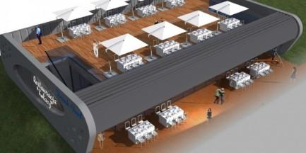 Lotnisko w Modlinie zyska nową restaurację z tarasem