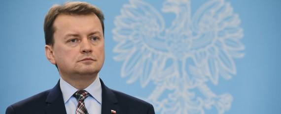 """Błaszczak odpowiada na list Gronkiewicz-Waltz ws. bezpieczeństwa. """"To margines marginesów"""""""