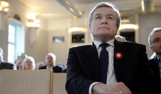 Minister Gliński o transparentach Marszu Niepodległości fot. PAP/Jacek Turczyk