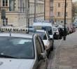 Jaguarem najechał na stopę strażnika miejskiego