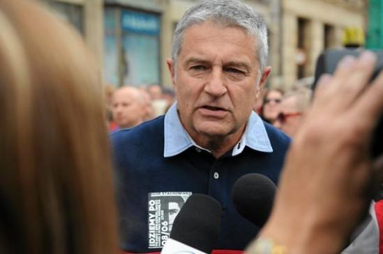 Władysław Frasyniuk. Fot. Tomasz Pietrzyk/Agencja Gazeta