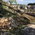 Zniszczenia po nawałnicy (WP.PL)