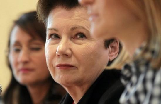 Prezydent Warszawy Hanna Gronkiewicz-Waltz Fot. Przemek Wierzchowski / Agencja Gazeta