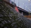 Zamknięto ważny wjazd na most Śląsko-Dąbrowski. Remontują mur oporowy