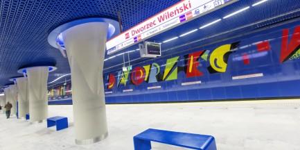 Metro Dworzec Wileński po kontroli. Może przyjąć pasażerów